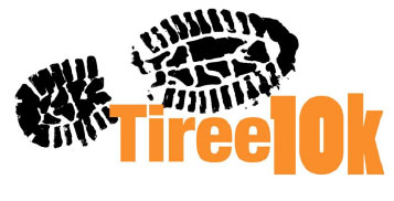 Tiree 10k logo