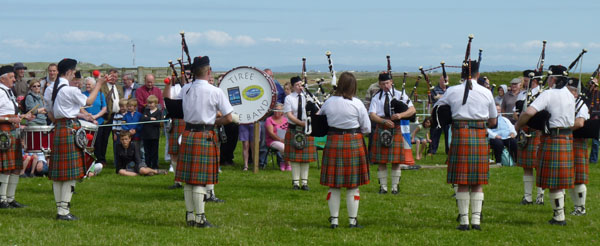 Tiree Show Pipe Band