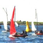 Tiree regatta Lug boats